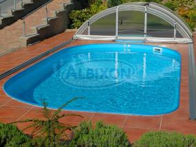 Polypropylen Schwimmbecken